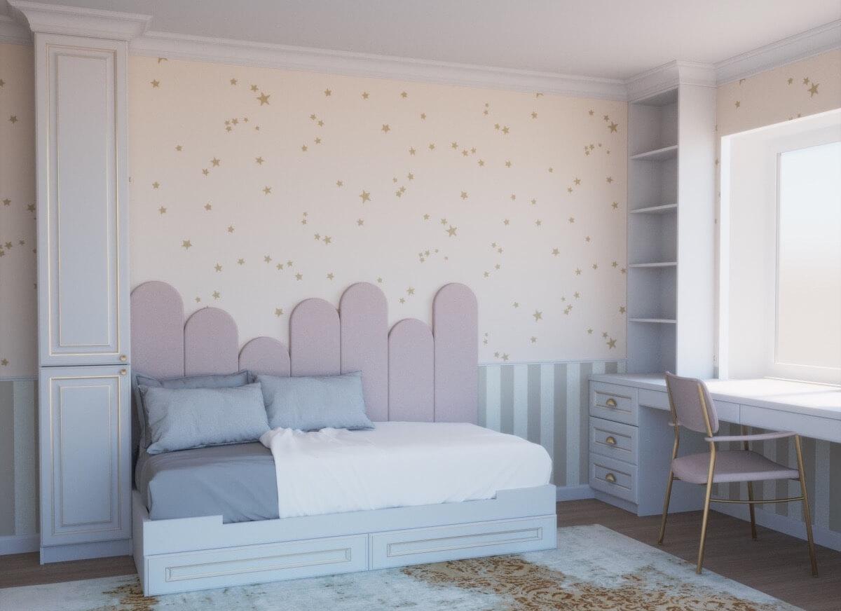Комплект мебели для детской комнаты Вилл (классика) фото