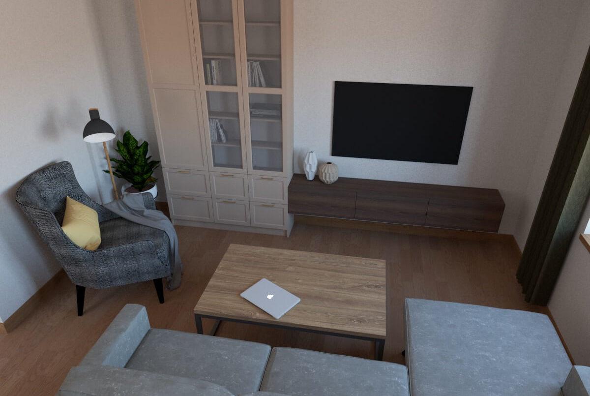 Гостиная Стелла - комплект корпусной мебели во Владимире фото