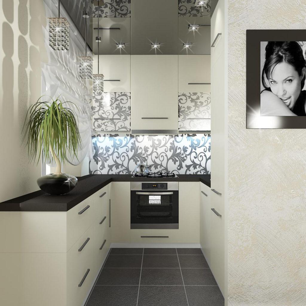 кухня без окна в квартире дизайн фото тебе