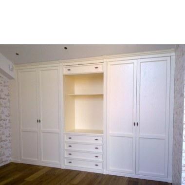 Распашной шкаф во всю стену фото