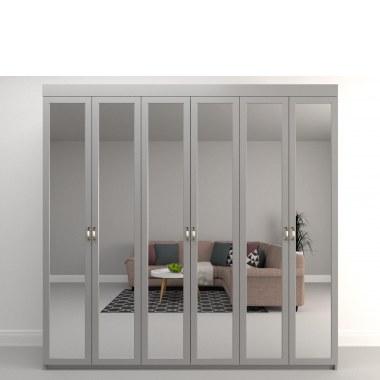 Большой зеркальный шкаф Ченто (фото)