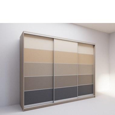 Шкаф-купе Градиент (вид сбоку) фото