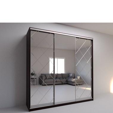 Современный шкаф-купе с зеркалом Миррор фото