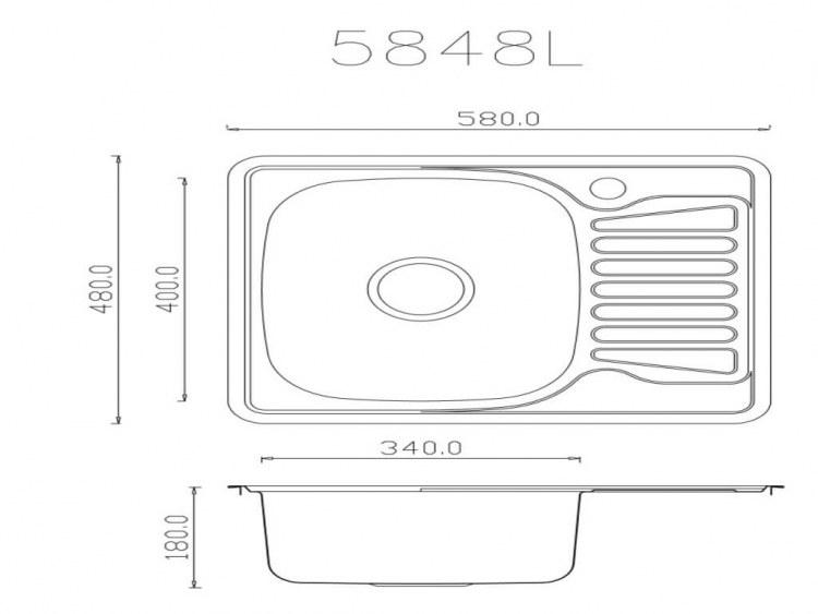 Мойка EMAR 5848 cхема