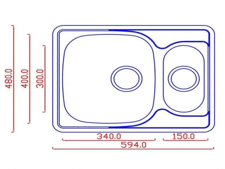 Мойка EMAR 5948 схема