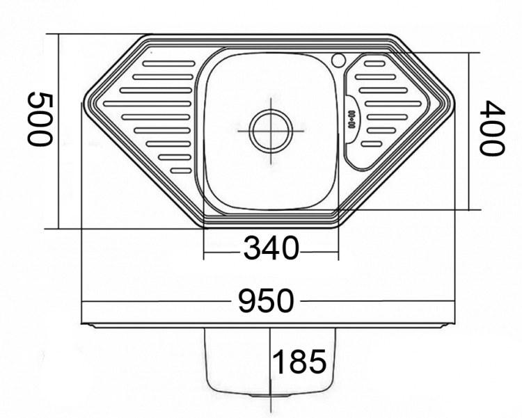 Мойка EMAR 9550A Схема