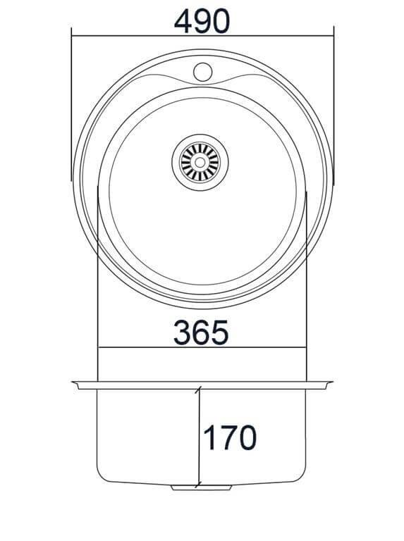 Схема мойки EMAR ЛАЙТ 490