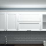 Верхние шкафы кухни Нормандия
