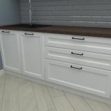 Нижние шкафы кухни Нормандия