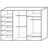 Шкаф-купе Вдохновение чертеж