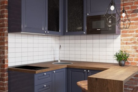 Кухня угловая Блаш фото