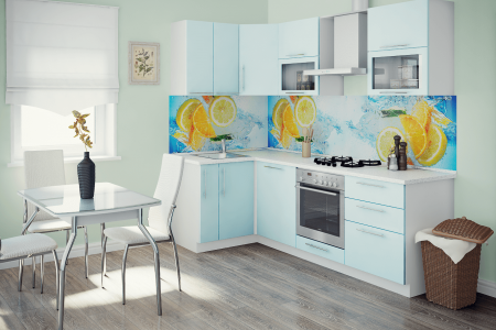 Кухня Фреш угловая фото