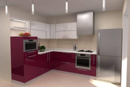 Кухня Фуриозо угловая фото