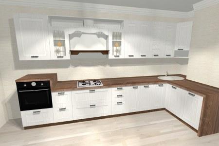 Угловая кухня Камилла фото