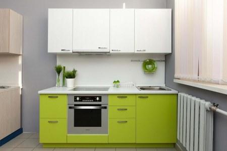 Кухня Лайм мини фото