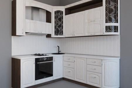 Компактная угловая кухня Вилладжио во Владимире фото