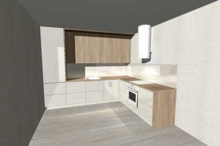 Кухня Катрис белая