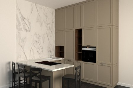 Кухня Милан фото