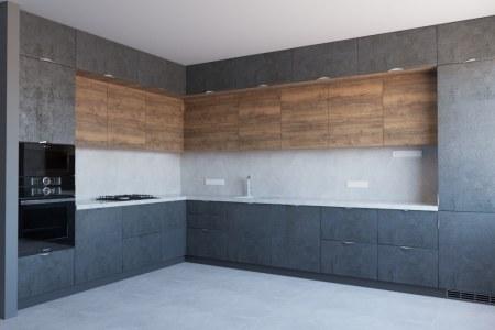 Современная и стильная кухня Урбан фото