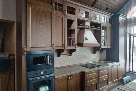 Кухня из дерева на заказ фото
