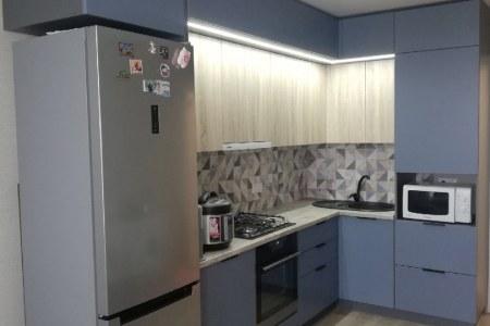 Высокий кухонный гарнитур фото
