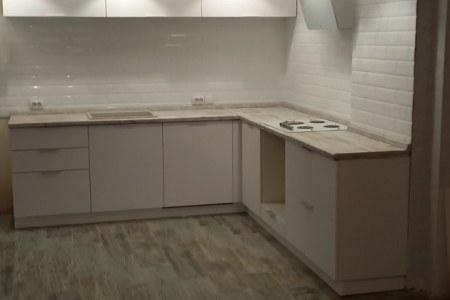 Кухня из ЛДСП Nordeco на заказ в Боголюбово фото