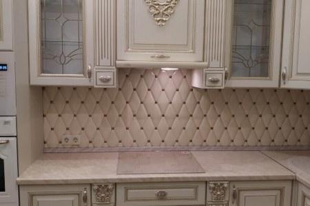 Кухня белая классика во Владимире