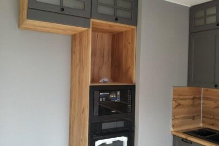 Кухня Мари - готовый проект фото