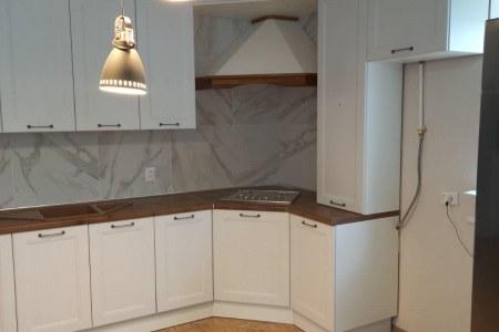 Угловая кухня Нормандия (готовая работа) фото