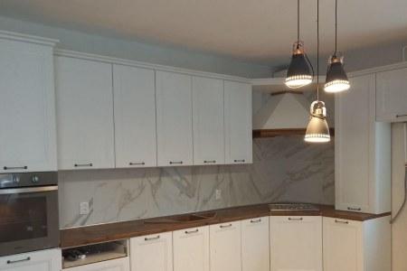 Угловая кухня Нормандия (классика) фото
