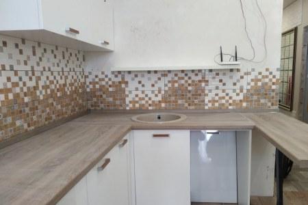 Кухня из МДФ глянец (белый)