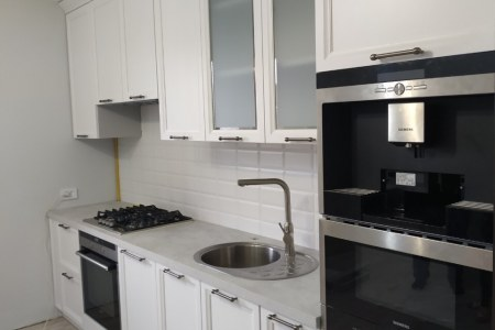 Белая красивая кухня Милан Бьянко