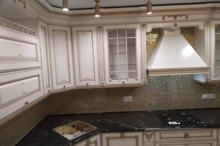 Кухня с фасадами Макбери фото