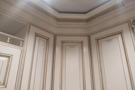 Красивые фасады для кухни Афина Оро фото