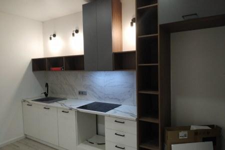 Недорогая кухня в минималистичном стиле фото