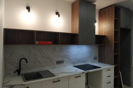 Небольшая кухня в скандинавском стиле фото