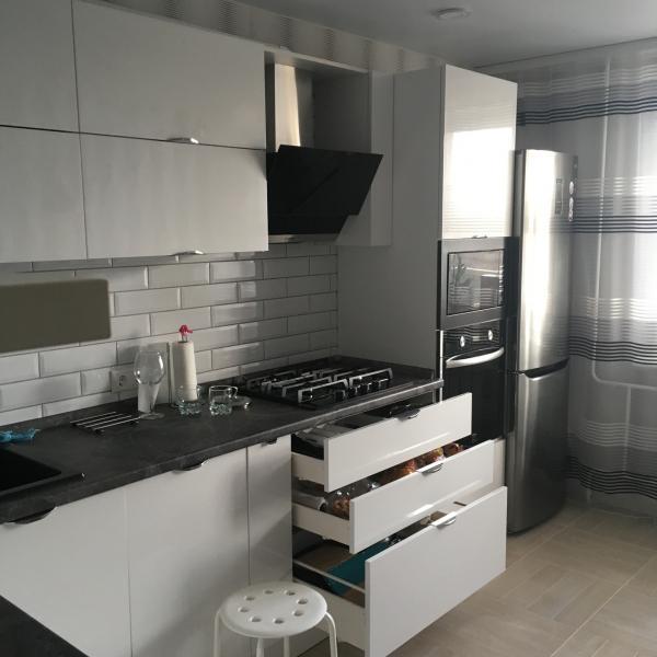 Кухонный гарнитур фасад эмаль-краска