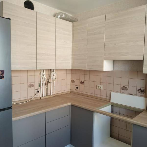 Недорогая угловая кухня во Владимире