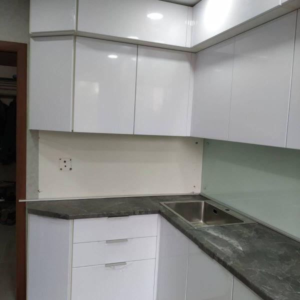 Кухня со столешницей КЕДР 38 мм. фото
